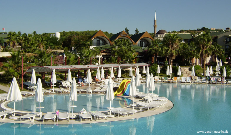 Incekum Beach Resort Poollandschaft